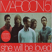 Maroon 5 - She Will Be Loved notas para el fortepiano