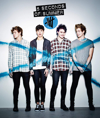 5 Seconds of Summer notas para el fortepiano