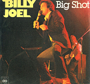 Billy Joel - Big Shot notas para el fortepiano