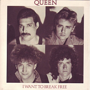 Queen - I Want To Break Free notas para el fortepiano