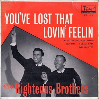 The Righteous Brothers - You've Lost That Lovin' Feelin' notas para el fortepiano