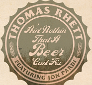 Thomas Rhett etc. - Beer Can't Fix notas para el fortepiano