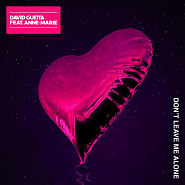 David Guetta - Don't Leave Me Alone (feat. Anne-Marie) notas para el fortepiano