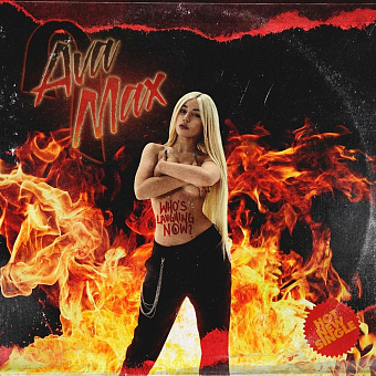Ava Max - Who's Laughing Now notas para el fortepiano