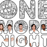Maroon 5 - One More Night notas para el fortepiano