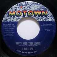 The Four Tops - Babe I Need Your Lovin notas para el fortepiano