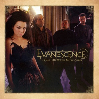 Evanescence - Call Me When You're Sober notas para el fortepiano