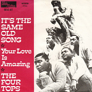 The Four Tops - It's the Same Old Song notas para el fortepiano