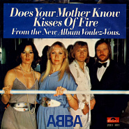 ABBA - Does Your Mother Know notas para el fortepiano