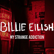Billie Eilish - my strange addiction notas para el fortepiano