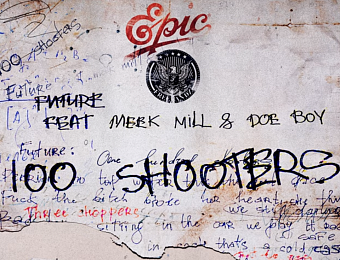 Future, Meek Mill, Doe Boy - 100 Shooters notas para el fortepiano