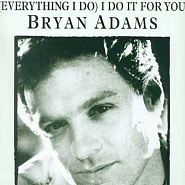 Bryan Adams - Everything I Do notas para el fortepiano