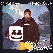 Marshmello etc. - Project Dreams notas para el fortepiano