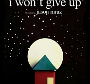 Jason Mraz - I Won't Give Up notas para el fortepiano
