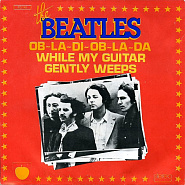 The Beatles - While My Guitar Gently Weeps notas para el fortepiano