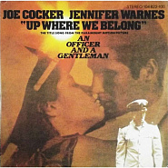 Joe Cocker - Up Where We Belong notas para el fortepiano