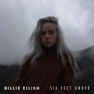 Billie Eilish - Six Feet Under notas para el fortepiano