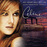 Celine Dion - My Heart Will Go on notas para el fortepiano