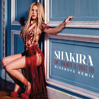 Shakira, Rihanna - Can't Remember to Forget You notas para el fortepiano