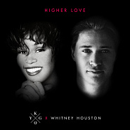 Whitney Houston etc. - Higher Love notas para el fortepiano