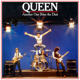 Queen - Another One Bites The Dust notas para el fortepiano