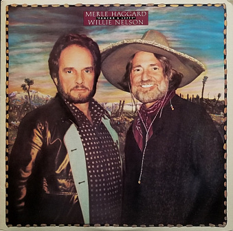 Merle Haggard, Willie Nelson - Pancho and Lefty notas para el fortepiano