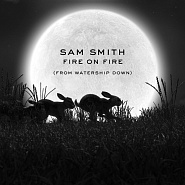 Sam Smith - Fire On Fire notas para el fortepiano