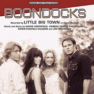 Little Big Town - Boondocks notas para el fortepiano