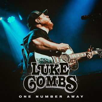 Luke Combs - One Number Away notas para el fortepiano