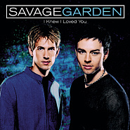 Savage Garden - I Knew I Loved You notas para el fortepiano
