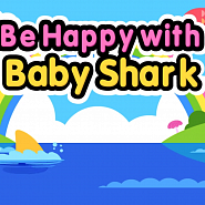 Pinkfong - Be Happy With Baby Shark notas para el fortepiano