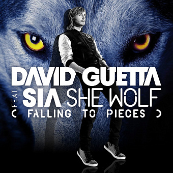 David Guetta, Sia - She Wolf (Falling to Pieces) notas para el fortepiano