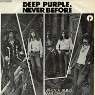 Deep Purple - When a Blind Man Cries notas para el fortepiano