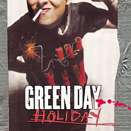 Green Day - Holiday notas para el fortepiano