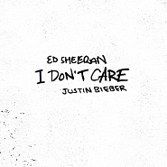 Ed Sheeran etc. - I Don't Care notas para el fortepiano