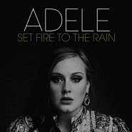 Adele - Set Fire To The Rain notas para el fortepiano