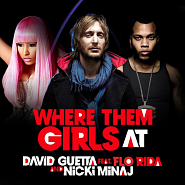 David Guetta etc. - Where Them Girls At notas para el fortepiano