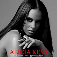 Alicia Keys - Try Sleeping With A Broken Heart notas para el fortepiano