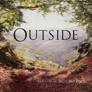 George Michael - Outside notas para el fortepiano