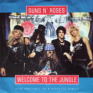 Guns N' Roses - Welcome To The Jungle notas para el fortepiano