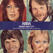 ABBA - Summer Night City notas para el fortepiano