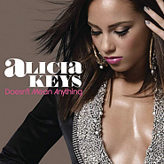 Alicia Keys - Doesn't Mean Anything notas para el fortepiano