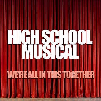 London Music Works - We're All In This Together (From High School Musical) notas para el fortepiano
