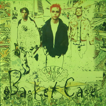 Green Day - Basket Case notas para el fortepiano