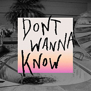 Maroon 5 etc. - Don't Wanna Know notas para el fortepiano