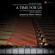 Nino Rota - A time for us notas para el fortepiano