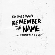 Ed Sheeran etc. - Remember The Name notas para el fortepiano