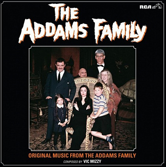 Vic Mizzy - The Addams Family Theme notas para el fortepiano