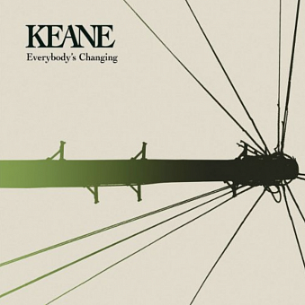 Keane - Everybody's Changing notas para el fortepiano