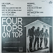 The Four Tops - I Got a Feeling notas para el fortepiano